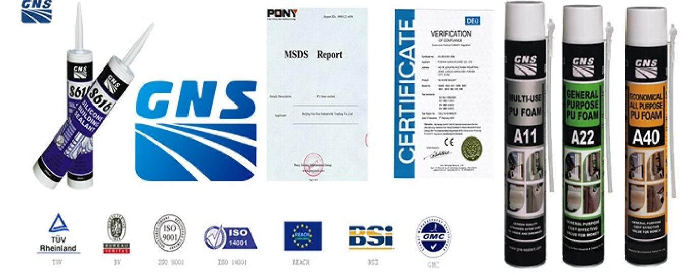 Keo Silicone GNS - PU Foam GNS